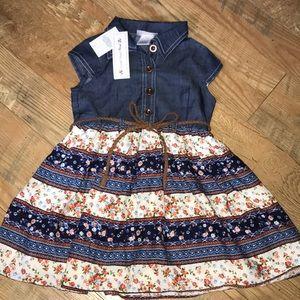 NWT Toddler Boho Dress